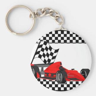 Llavero del coche de competición