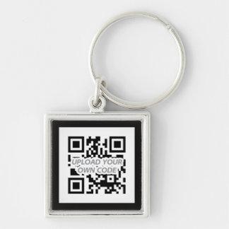 ¡Llavero del código de Personalizable QR - encuent