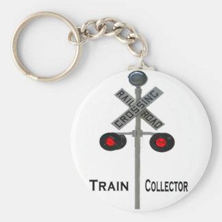 Llavero del colector del tren