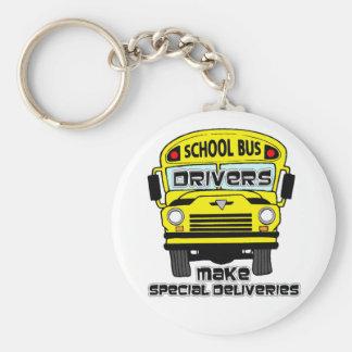 Llavero del conductor del autobús escolar
