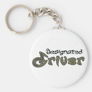 Llavero del conductor señalado