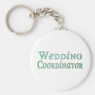 Llavero del coordinador del boda