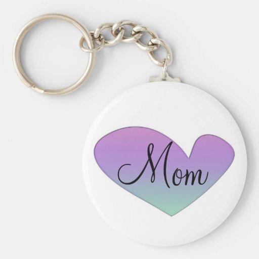 Llavero del corazón de la mamá
