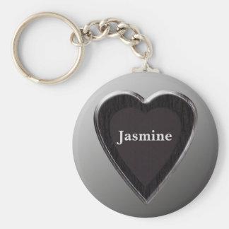 Llavero del corazón del jazmín por 369MyName