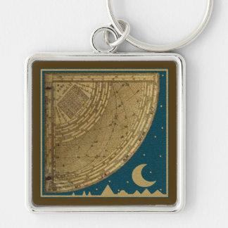 Llavero del cuadrante del astrolabio