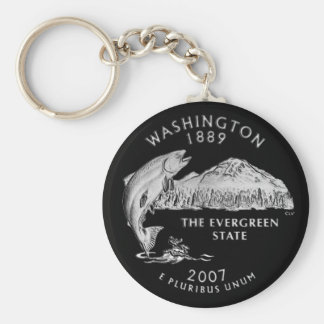 Llavero del cuarto del estado de Washington