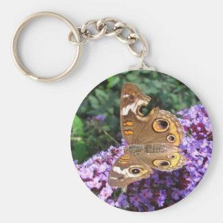 Llavero del ~ de la mariposa del castaño de Indias