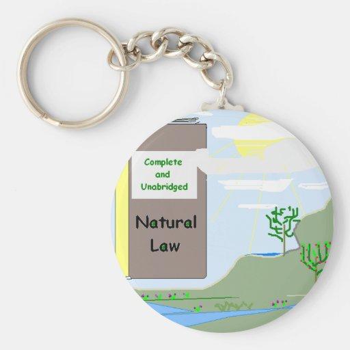 Llavero del derecho natural