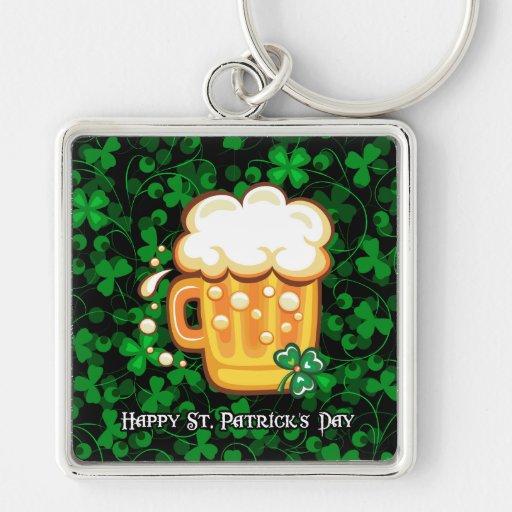 Llavero del día 1 de St Patrick feliz
