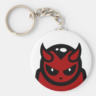 Llavero del diablo rojo