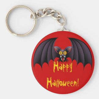 Llavero del dibujo animado del palo de Halloween