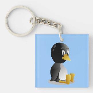 Llavero del dibujo animado del pingüino