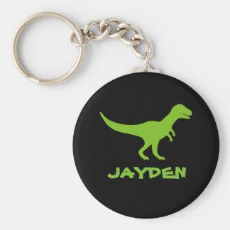 Llavero del dinosaurio del rex del Tyrannosaurus t