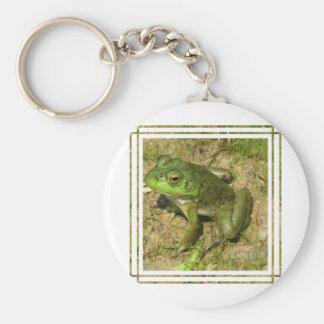 Llavero del diseño de la rana