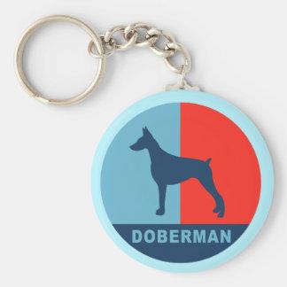 Llavero del Doberman