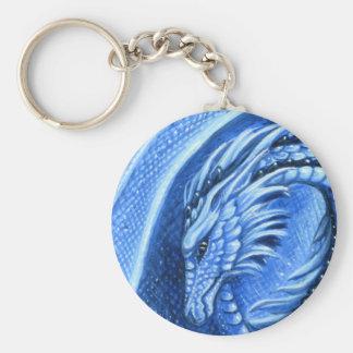 Llavero del dragón del Aquamarine