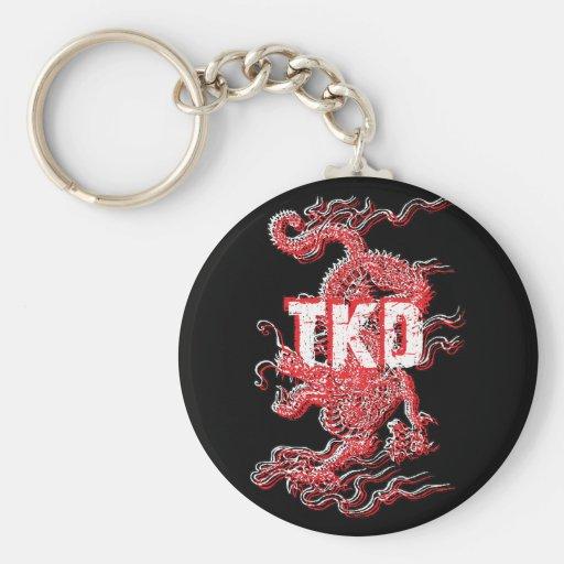 Llavero del dragón del Taekwondo