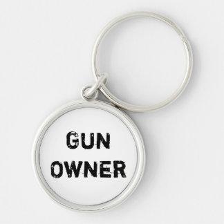 Llavero del dueño de arma