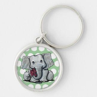 Llavero del elefante de KiniArt