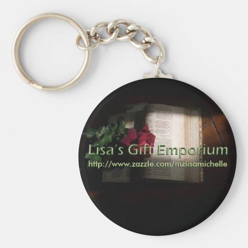 Llavero del emporio del regalo de Lisa