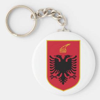 Llavero del escudo de armas de Albania