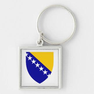 Llavero del escudo de armas de Bosnia y Herzegovin
