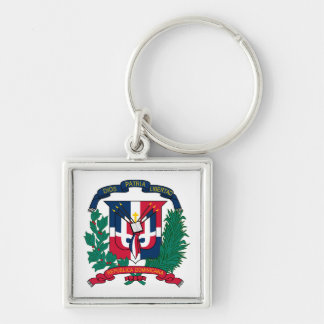 Llavero del escudo de armas de la República Domini