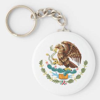 Llavero del escudo de armas de México