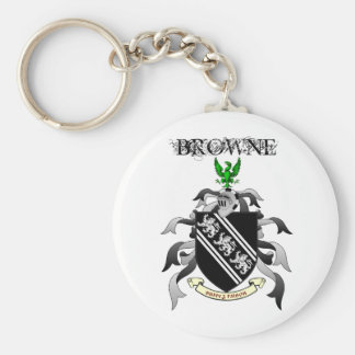 Llavero del escudo de Browne