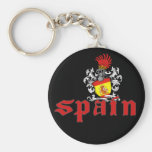 Llavero del escudo de España