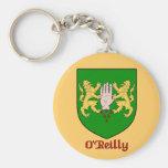 Llavero del escudo de la familia de O'Reilly