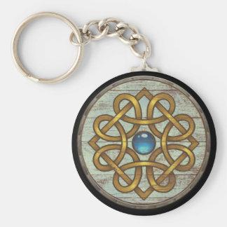 Llavero del escudo de Viking - broche