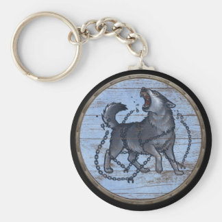 Llavero del escudo de Viking - Fenrir