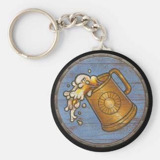 Llavero del escudo de Viking - jarra de cerveza qu