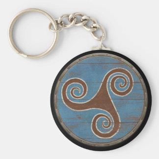 Llavero del escudo de Viking - Triskele