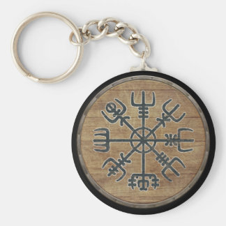 Llavero del escudo de Viking - Vegvisir