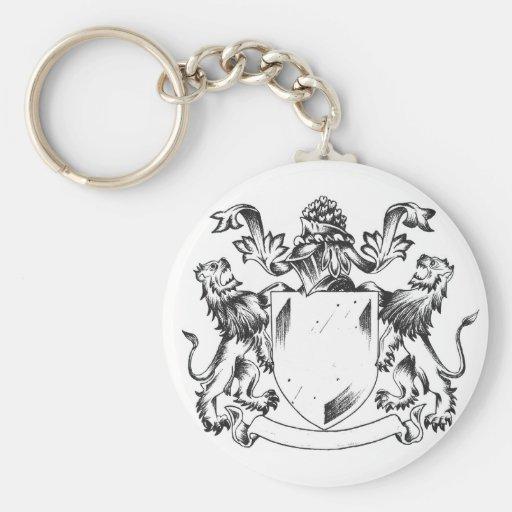 Llavero del escudo del león