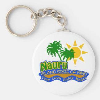 Llavero del estado de ánimo de Nauru