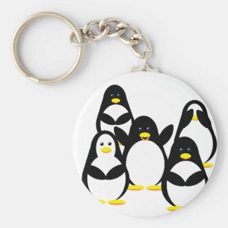 Llavero del fiesta del pingüino