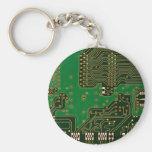 llavero del fondo de la placa de circuito