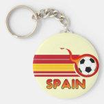 Llavero del fútbol de España