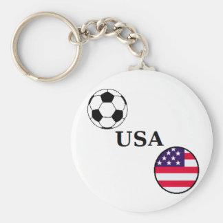 Llavero del fútbol de los E.E.U.U.