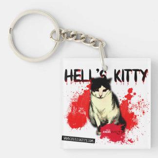 Llavero del gatito del infierno