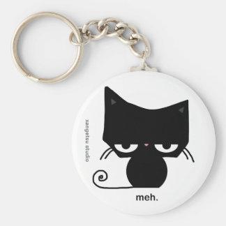 Llavero del gato de Meh