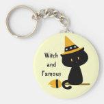 Llavero del gato de Witchy