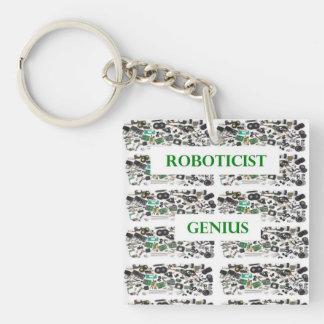 Llavero del genio de Roboticist