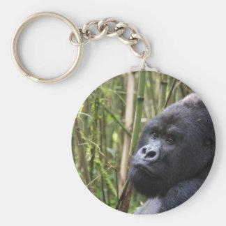 Llavero del gorila de la tierra baja