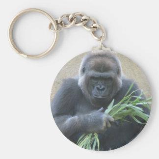 Llavero del gorila del Silverback