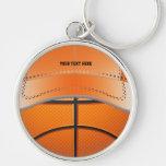 Llavero del gorra de la bola del baloncesto