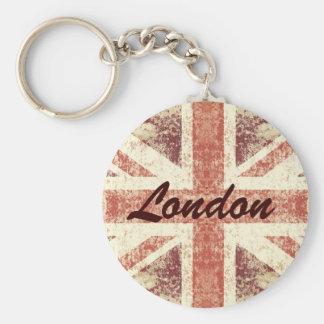 Llavero del Grunge Union Jack - de Londres